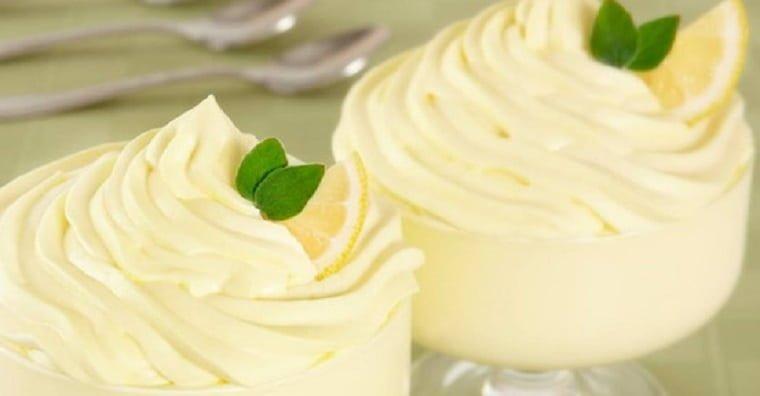 Recette: Mousse au citron et mascarpone