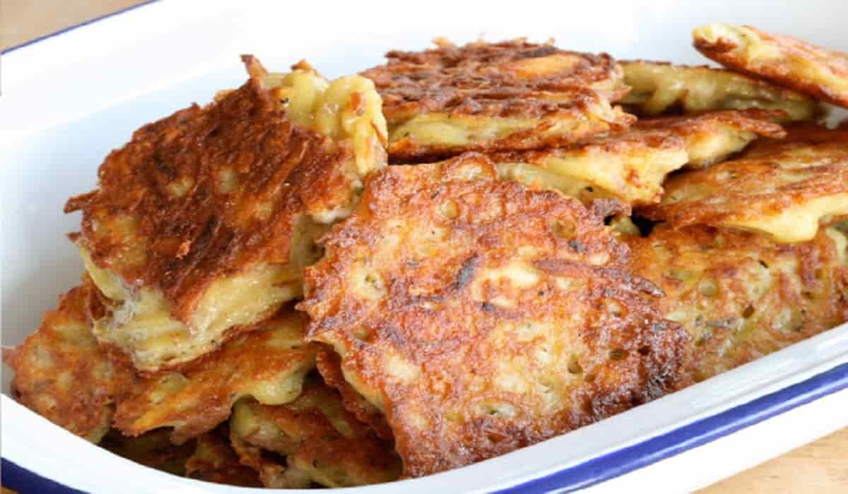 Recette santé: galettes de pommes de terre à l'ancienne.