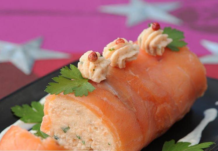 Bûchette de saumon