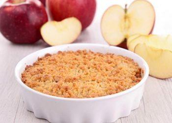 Crumble facile aux pommes express