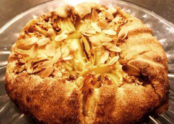 La Tarte Rustique Pommes Amandes