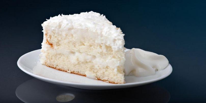 Le gâteau blanc le plus délicieux au monde