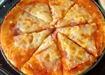 Pizza jambon fromage
