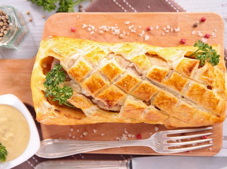 Recette Filet mignon en croûte au jambon