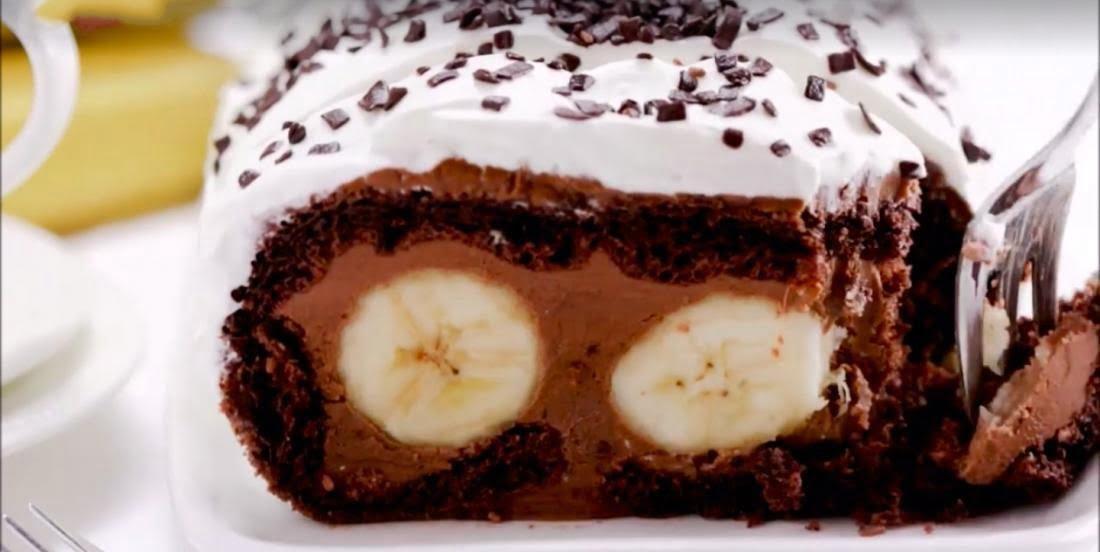 Rouleau SUISSE banane et chocolat
