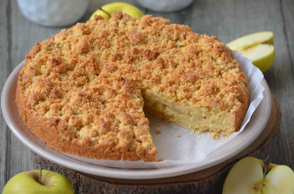 Sbriciolata aux pommes