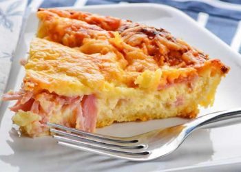 Tarte aux pommes de terre et camembert (la meilleure)
