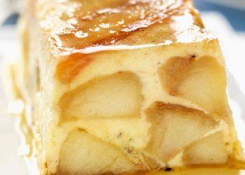 Terrine fondante pommes caramel