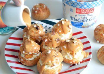 Chouquettes sucrées salées pommes caramel