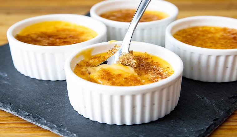 Crème aux œufs à la vanille