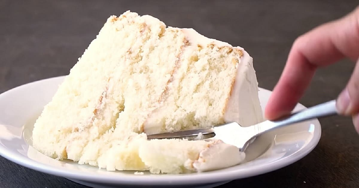 Le meilleur gâteau blanc du monde