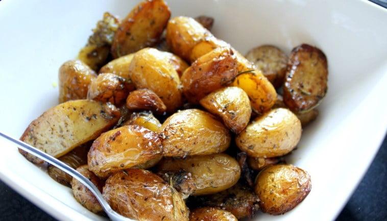 Préparation:Pommes de terre confites
