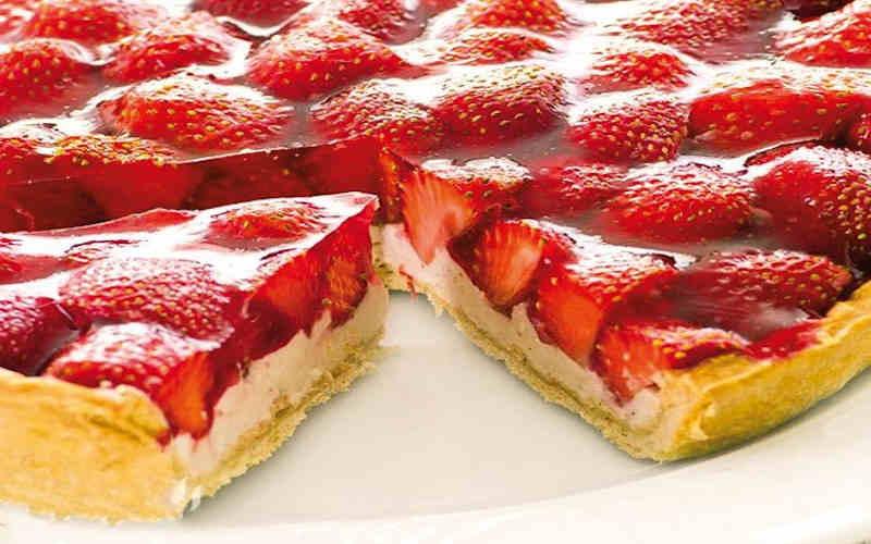 Tarte aux fraises et au yaourt