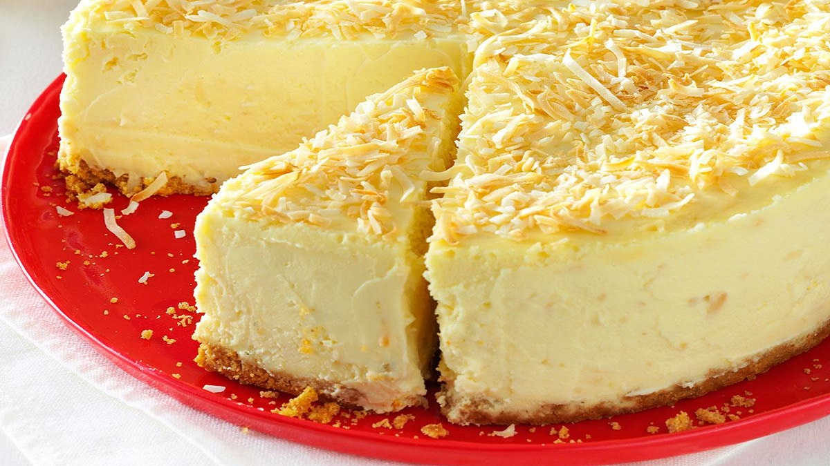 Gâteau au fromage chocolat blanc