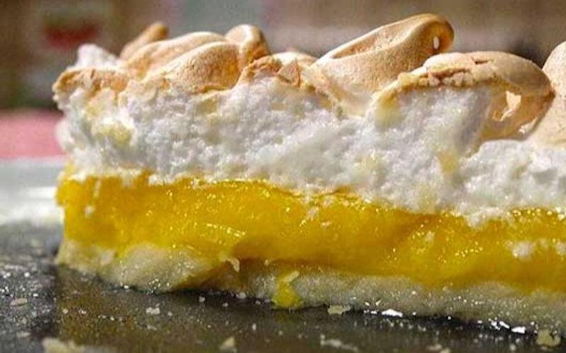 Tarte au citron meringuée authentique
