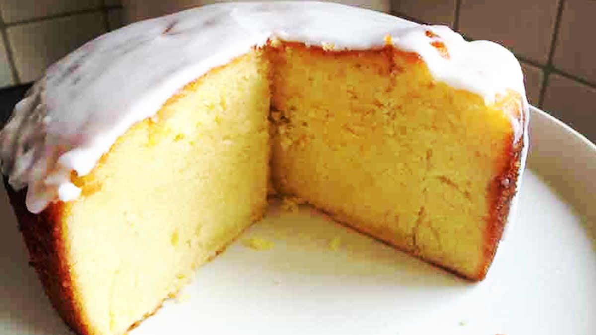 Cake au citron très moelleux