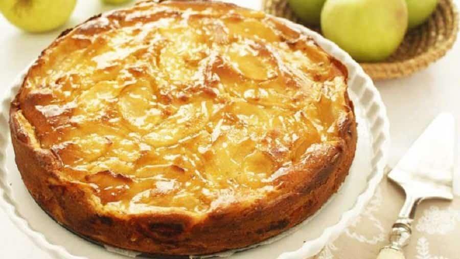 Cake fondant aux pommes