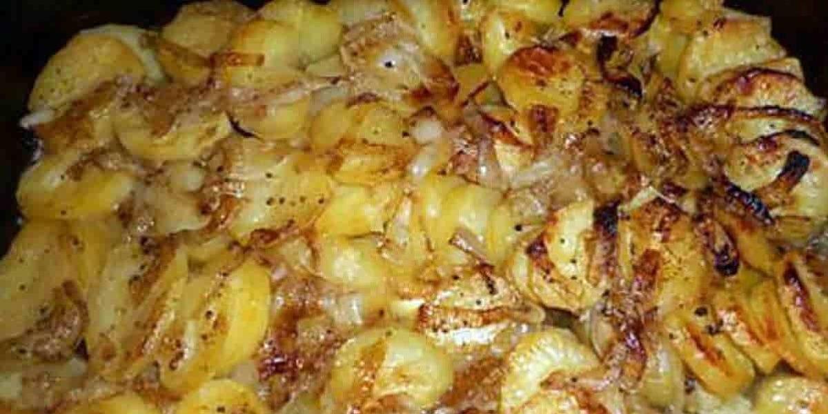 Pommes de terre boulangère fondantes