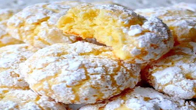 Cookies au citron vraiment inratable.