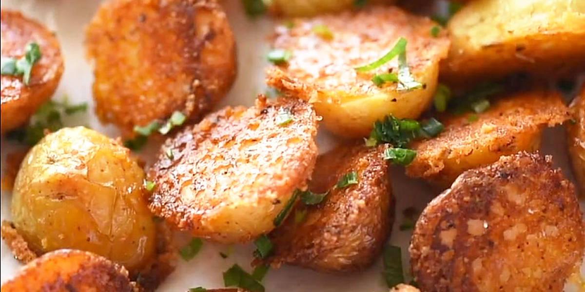 Mini pommes de terre croustillantes