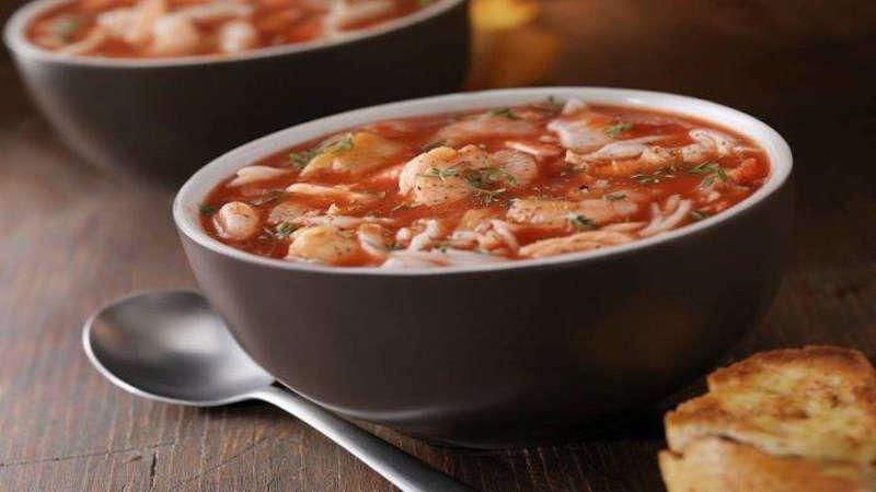 soupe de poisson à l'italienne