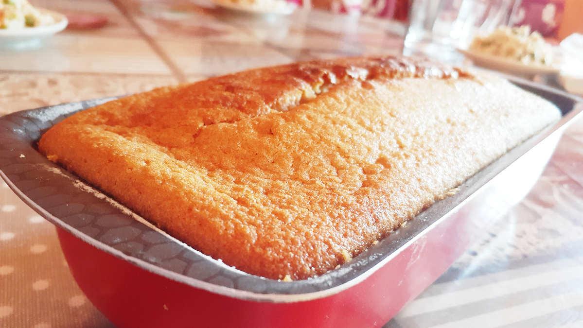CAKE CITRON MOELLEUX À LA CASSONADE