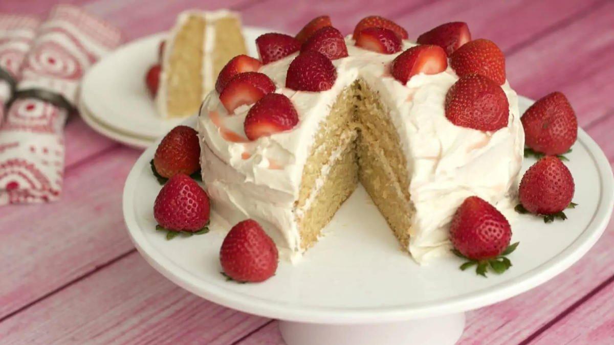 Gâteau léger à la vanille