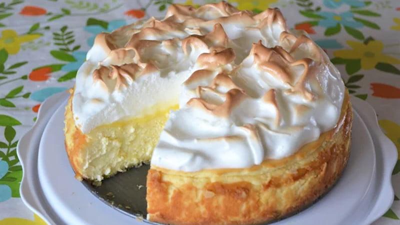 Gâteau au citron meringuée