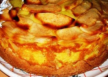 Le Gâteau Flan Aux Pommes de ma grand-mère