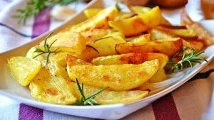 Pommes de terre croustillantes au four