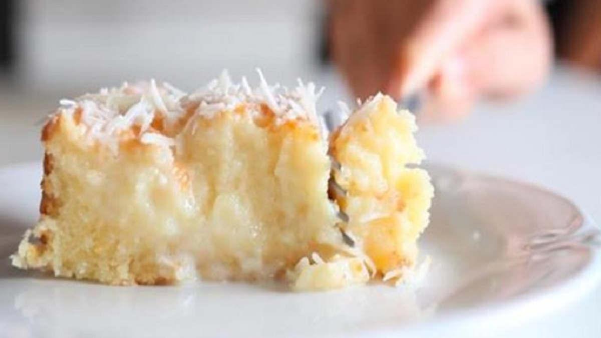 Gâteau à la noix et au lait de coco