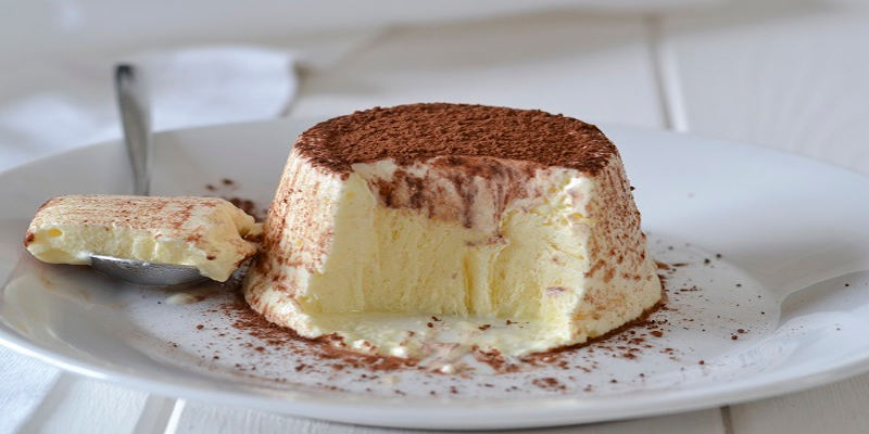 Dessert avec mascarpone