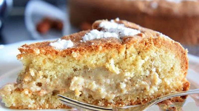 Gâteau à la crème de noisette un pur délice