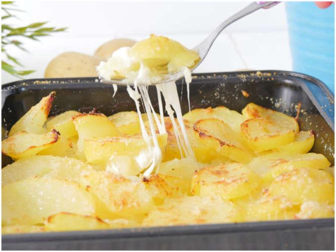 Pommes de terre filantes