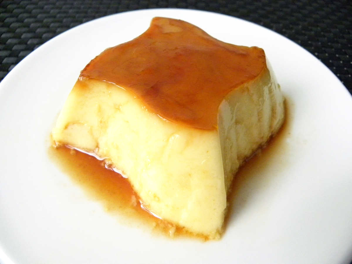 Crème caramel au mascarpone