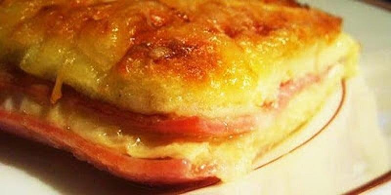 Pain perdu Jambon & Fromage