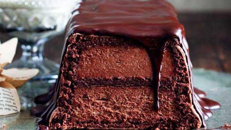 Gâteau terrine Mousse au Chocolat