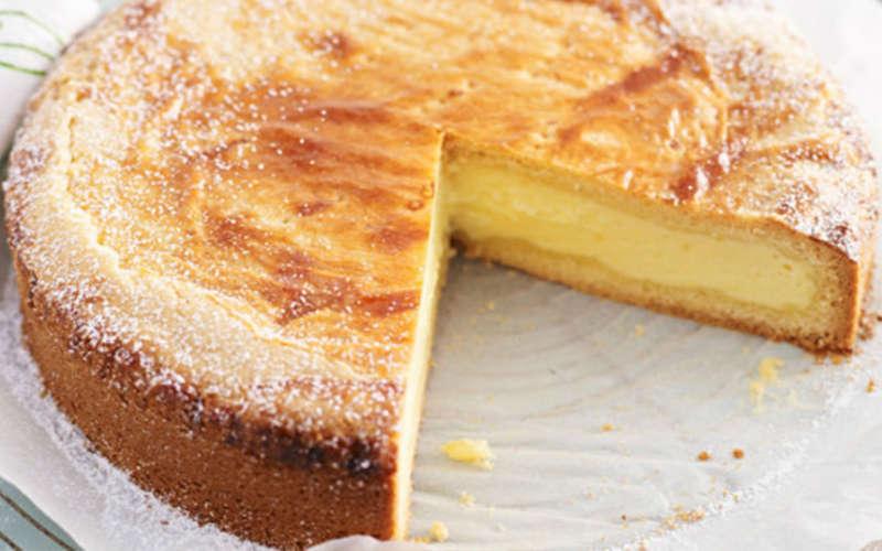 Recette Gâteau à la crème pâtissière