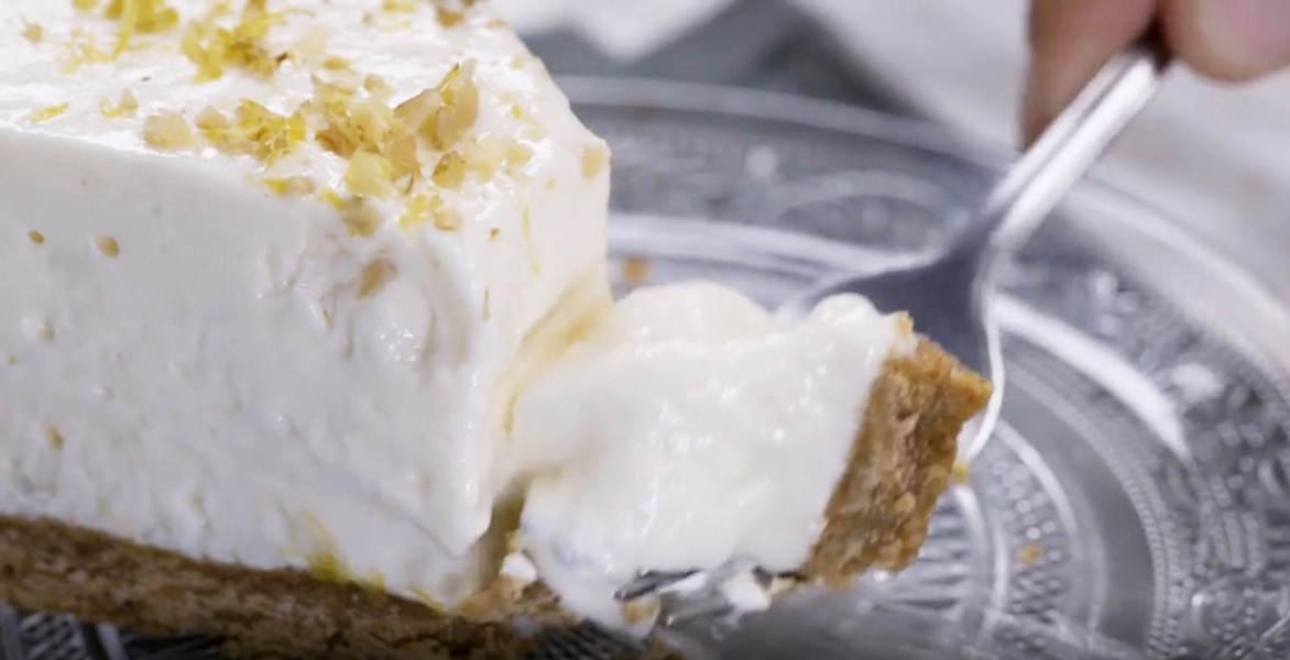 Cake ultra moelleux au citron glacée