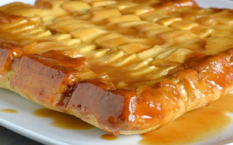 Gâteau tablette de pommes