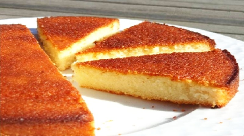 Gâteau aux blancs