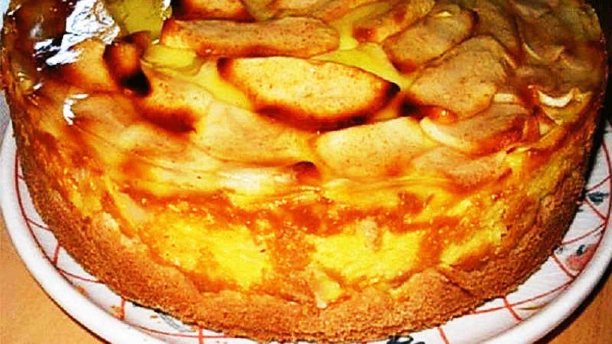Flan Aux Pommes