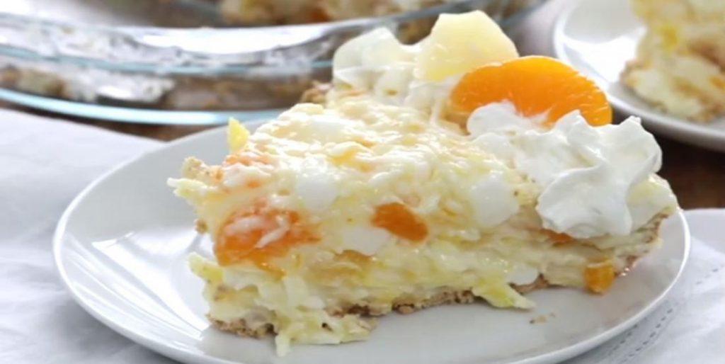 Gâteau Mandarine et ananas