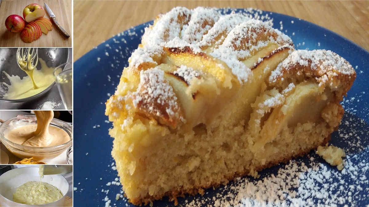 Gâteau aux pommes de la grand-mère