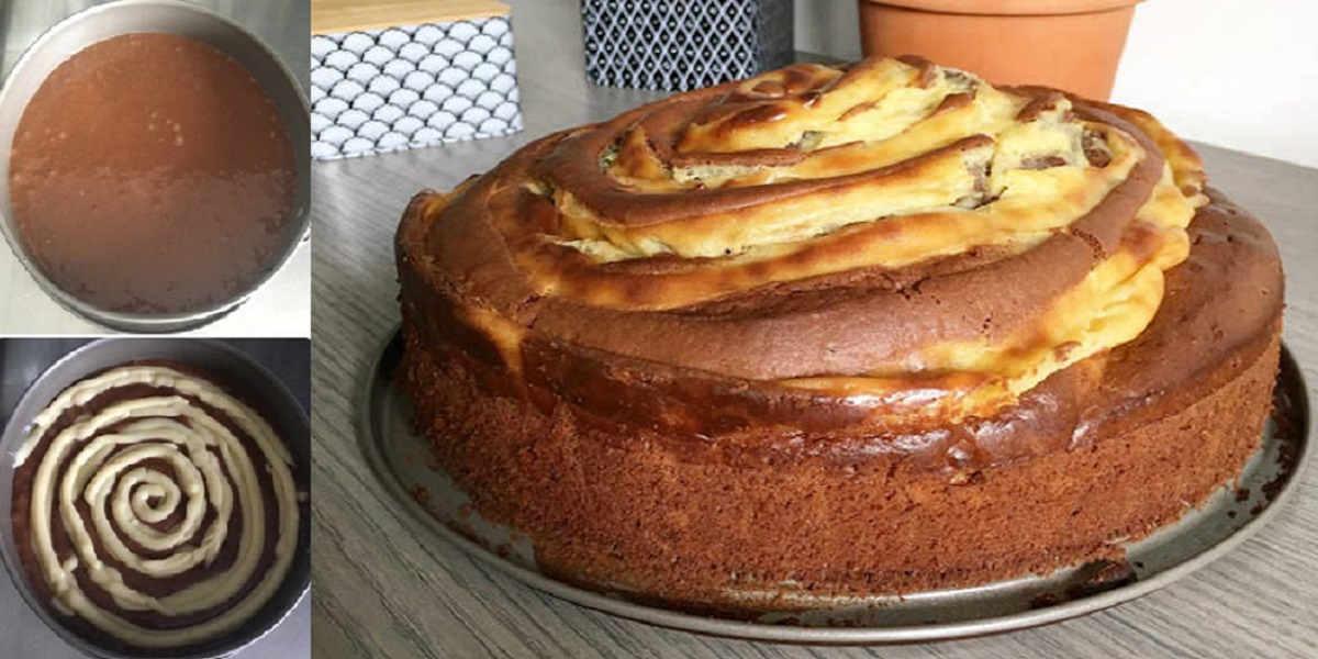 Gâteau Spirale au Chocolat