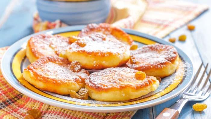 Pancake au yaourt léger