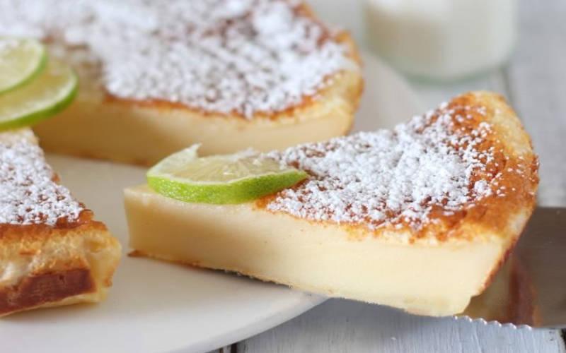 Gâteau Flan au lait crémeux