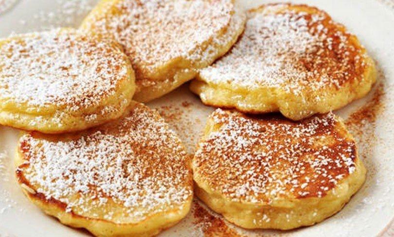 Pancakes au yaourt Express