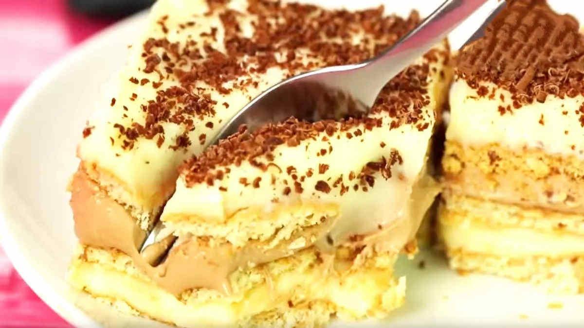 Gâteau frigidaire à la vanille