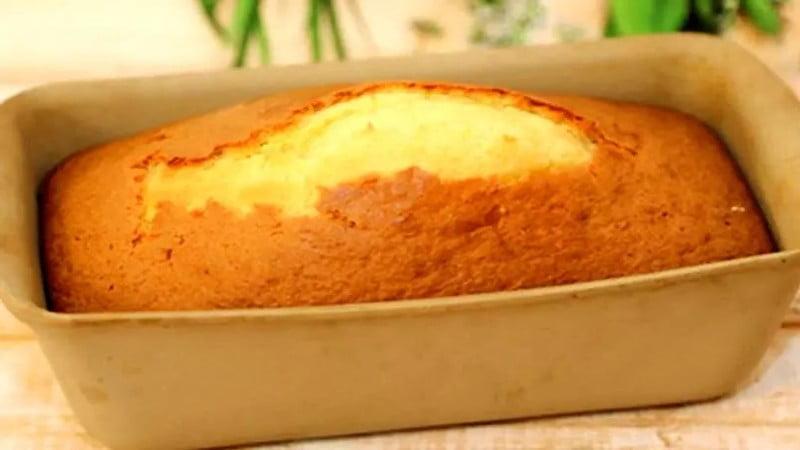 Cake au citron à la crème fraîche